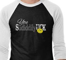 You Sudiddilyuck for Dark Colors Men's Baseball ¾ T-Shirt