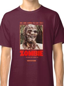 Zombie Flesh Eaters Classic T-Shirt