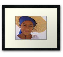 The little dancer, Ciudad Colón, Costa Rica Framed Print