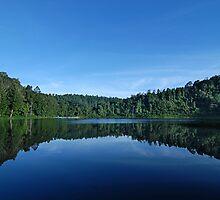 situ gunung lake # 1 by Saepul jamal Sje