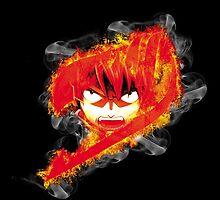 Fire Natsu by jeffrepublic