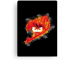 Fire Natsu Canvas Print