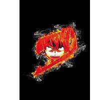 Fire Natsu Photographic Print