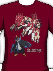 Andy W's Primal Groudon & Empoleon T-Shirt