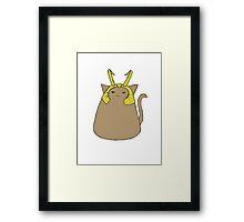 Loki Kitty  Framed Print