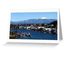 La Conner Washington Greeting Card