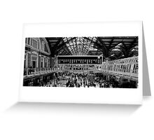 LP Station Greeting Card