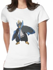 Andy W's Empoleon Womens Fitted T-Shirt