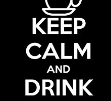Keep calm and drink coffee! by Ninjastylie