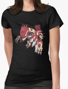 Andy W's Primal Groudon Womens Fitted T-Shirt