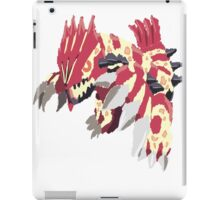 Andy W's Primal Groudon (No outline) iPad Case/Skin