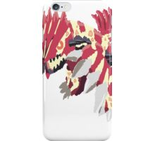 Andy W's Primal Groudon (No outline) iPhone Case/Skin