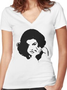 Ms Horne Women's Fitted V-Neck T-Shirt