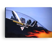 Ready for take off. Canvas Print