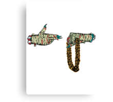 Run the jewels Canvas Print