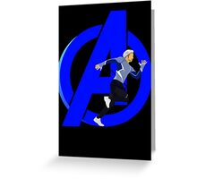 Just Quicksilver Greeting Card