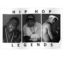 Hip Hop Legends Poster