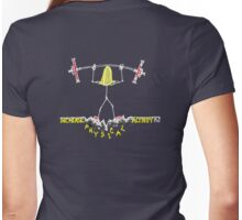 Increase Physical Activity - Lift Weights Womens Fitted T-Shirt