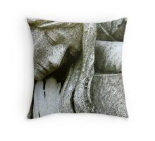Heavyhearted Throw Pillow