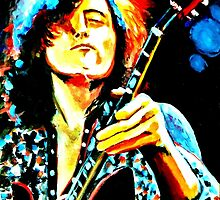 Jimmy Page by SweetPeaArt