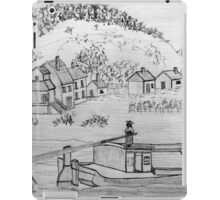 An Ancient Scene on the Danube iPad Case/Skin
