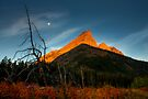 Sunrise, Red Rock Canyon, Waterton National Park, Alberta , Canada. by PhotosEcosse