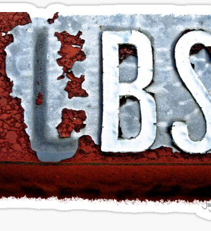 BS Sticker