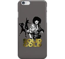 Solid Gold 1 iPhone Case/Skin