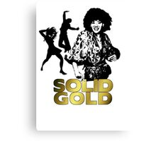 Solid Gold 1 Canvas Print