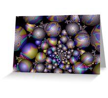 Tangent Balls (1) Greeting Card