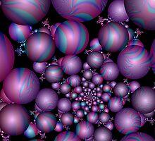 Tangent Balls (2) by Julie Shortridge