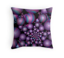 Tangent Balls (2) Throw Pillow