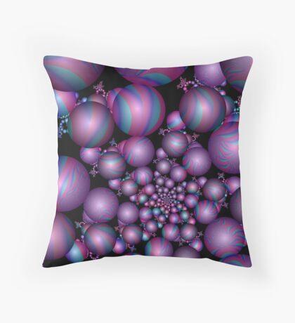 Tangent Balls (2) Throw Pillow
