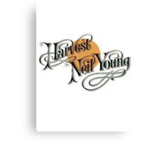 "Neil Young ""Harverst"" Canvas Print"