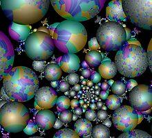 Tangent Balls (3) by Julie Shortridge
