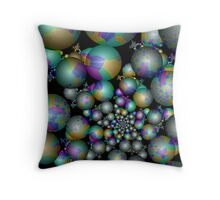 Tangent Balls (3) Throw Pillow