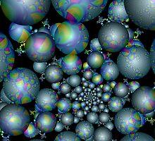 Tangent Balls (4) by Julie Shortridge