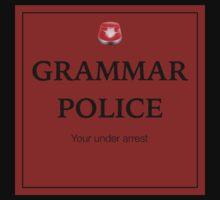 Grammar Police  One Piece - Long Sleeve