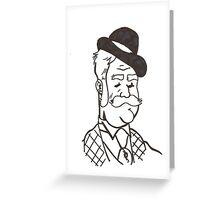 My Dear Watson Greeting Card