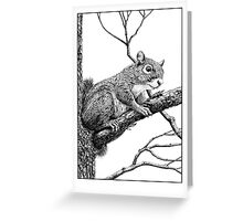 Up a Tree Greeting Card