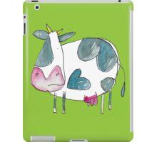 A Cow in a Field  iPad Case/Skin