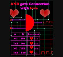 And gate connection with love Unisex T-Shirt