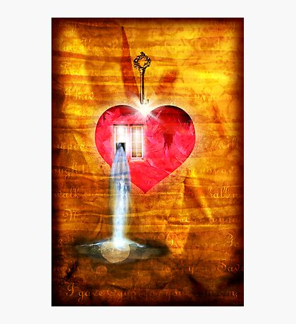 A Heart To Receive Photographic Print