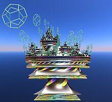 StarCity Defense Launch  by Hypnogoddess