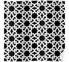 Geometric Pattern - Oriental Design rmx Poster