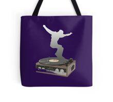 record player dance Tote Bag