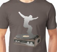 record player dance Unisex T-Shirt