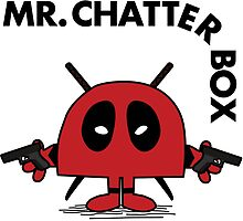 Deadpool - Mr Chatterbox by landobry