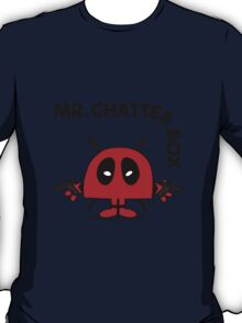 Deadpool - Mr Chatterbox T-Shirt