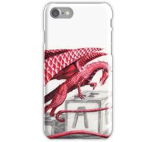 Red dragon- let's play iPhone Case/Skin